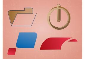 Minimales Logo-Paket