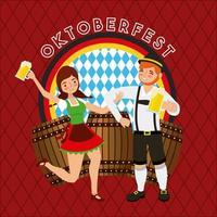 oktoberfest tyska firandet