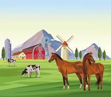 Cartoons mit Nutztieren