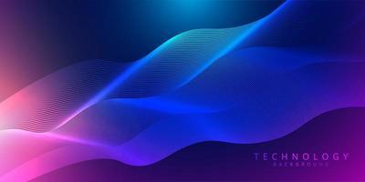 Abstrakter Hintergrund der Technologie 3d und der Wissenschaft vektor
