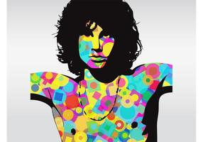 Jim Morrison vektor