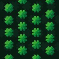 Muster von St Patrick Tag mit Klee
