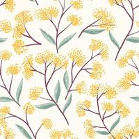 Fält Foral Seamless Pattern-01