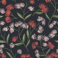 Fält Foral Seamless Pattern-04