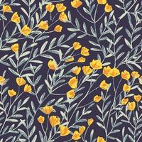 Fält Foral Seamless Pattern-06