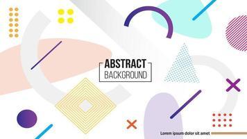 Abstrakt geometrisk formbakgrund