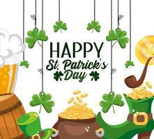 glücklichen St Patrick Tagesereignis-Feierentwurf