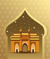 Indien-Nationaldenkmalgebäudearchitektur