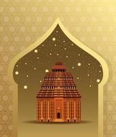 Indiens nationella monumentbyggnadsarkitektur