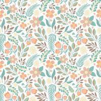 blomma natur sömlösa mönster