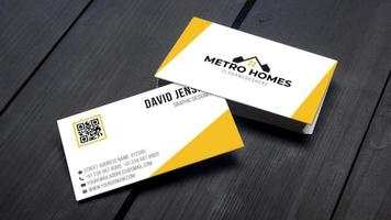 Professionelles Visitenkarten-Template-Design
