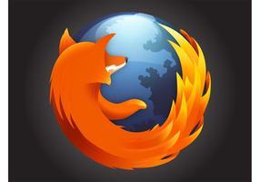 Mozilla Firefox-logotypen vektor