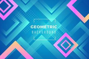Hintergrund abstrakt blau Diagonale Sechseck bunt