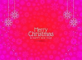 Dekorativ bakgrund för god jul
