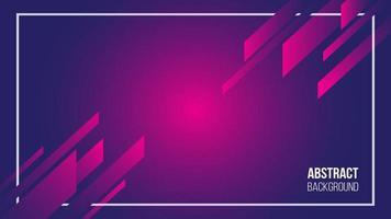 Moderner abstrakter geometrischer Hintergrund vektor
