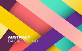 Färgglad randig abstrakt bakgrund vektor