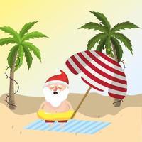 Sommerferien Urlaub vektor