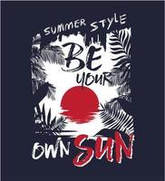 Var din egen sol