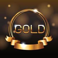 VIP Gold Pass vektor