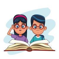 Barn och böcker tecknade filmer