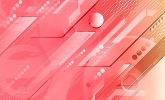 Geometrischer Formhintergrund der rosa Steigung
