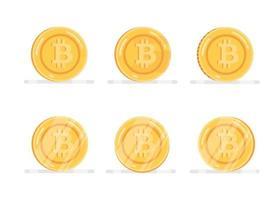 Bitcoin-Finanzsystemikonen eingestellt