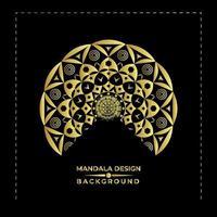 Fantastisk trevlig Mandala Bakgrundsvektordesign