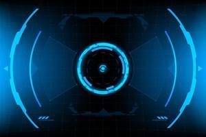 HUD-panel VR Användargränssnitt
