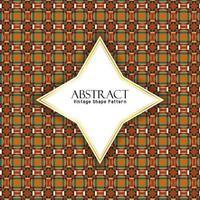 Abstrakte geometrische Form Muster