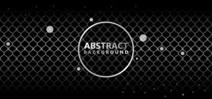 Schönes silbernes abstraktes Muster vektor