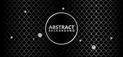 Silbernes abstraktes strukturiertes Punktmuster vektor