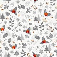 Winterurlaub nahtlose Muster