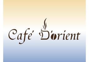 kaffe företagslogotyp