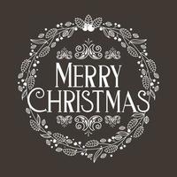 Frohe Weihnachten Dekoration vektor