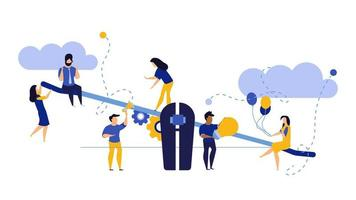 Medarbetares jämförelse i företag