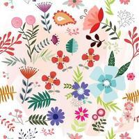 Vårens sommarblommaträdgård