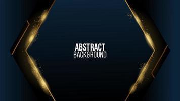 Abstrakter Goldluxushintergrund vektor