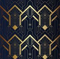 Modernes geometrisches Luxusmuster
