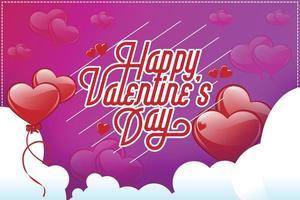 Valentinstag Vorlage