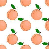 rosa persikor sömlösa mönster