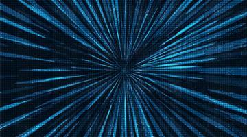 Zukünftiger Geschwindigkeits-Licht-Technologie-Hintergrund. vektor