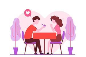 Romantisches Engagement Vorschlag Design