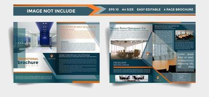 Unternehmensbroschüre Template-Design