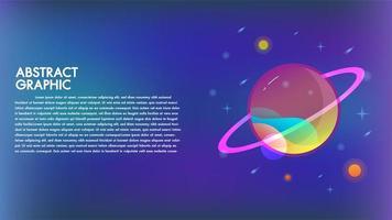 Abstrakte Technologie Mars Planetendesign-Hintergrundkommunikation