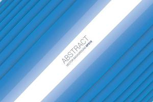 Abstrakter winkliger Hintergrund mit blauer Farbe vektor