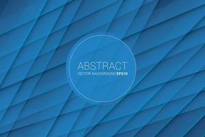 Abstrakter Criss Cross Strip-Hintergrund mit blauer Farbe vektor