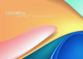 Auszug verzerrter Form-Hintergrund mit Platz für Text