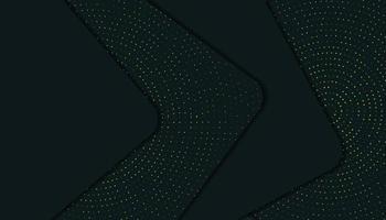 Abstrakter eleganter dunkelgrüner Hintergrund der Schicht-3D mit Funkeln