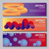 abstrakt täcker vätskor vektor