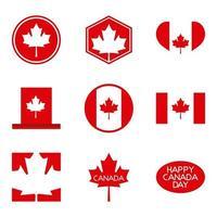 lycklig kanadagskort